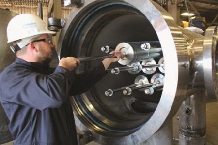 The new Clark-Reliance filter elements increase operator safety