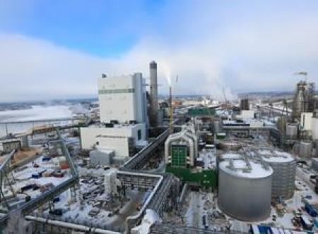 Metsä Fibre Bioproduct Mill Äänekoski Finland (picture Sami Karppinen)