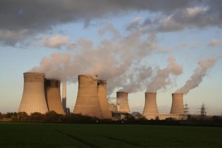 Cooling towers, West Burton Power Station, image courtesy of Richard Croft