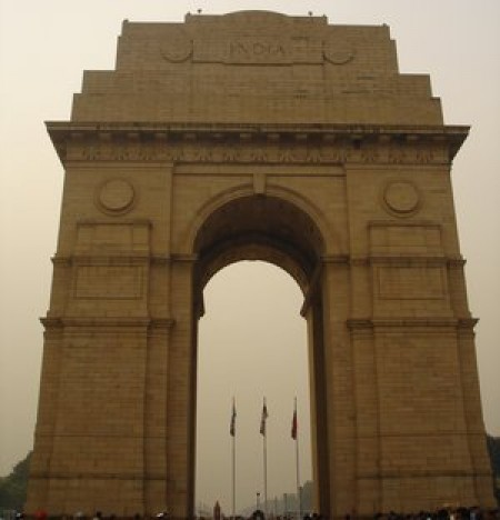 The India gate war memorial CC BY-SA 3.0, https://commons.wikimedia.org/w/index.php?curid=484763