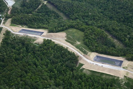 Marcellus-Shale natural gas fracking water wells in rural West Virginia