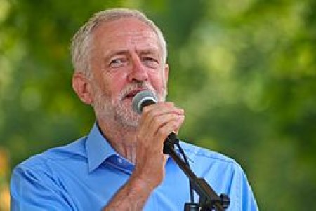 Jeremy Corbyn, Leader of the Labour Party, UK. Image courtesy of Wikmedia Commons user Sophie J. Brown