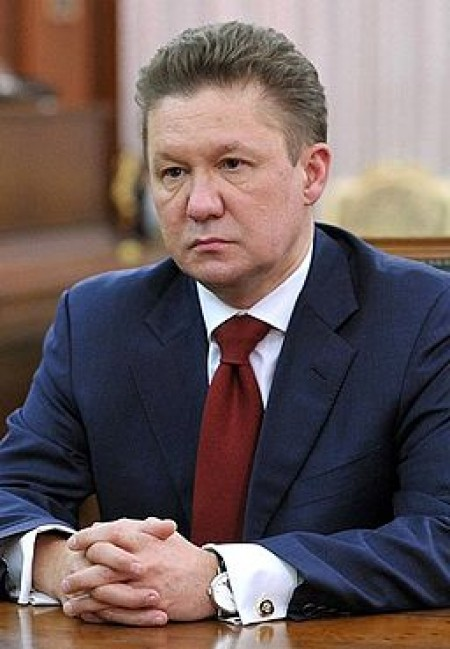Alexey Miller 2013, courtesy of Russian Presidential Press and Information Office