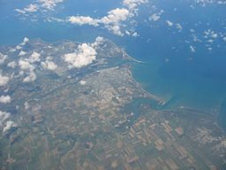 Mackay, Queensland from the air
