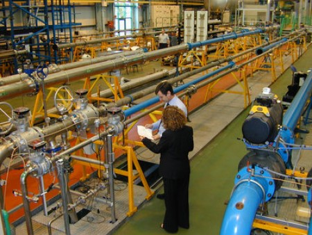 General view of NEL's flowmeasurement facilities