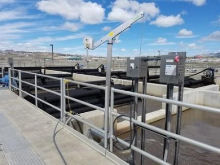 At Elko's wastewater treatment facility in Nevada, Landia's mixers homogenise sludge in anoxic tanks