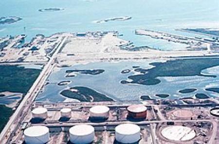 Oil refinery coastal Texas