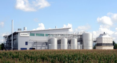 Extensive tests with Enviral's feedstock were conducted at Clariant's pre-commercial plant in Straubing, Germany. (Photo courtesy of Clariant)