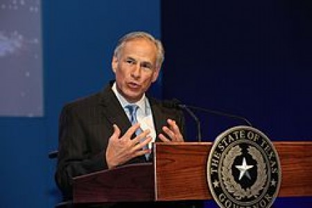 Greg Abbott, Governor of Texas, By World Travel & Tourism Council (Greg Abbott, Governor of Texas) [CC BY 2.0 (http://creativecommons.org/licenses/by/2.0)], via Wikimedia Commons