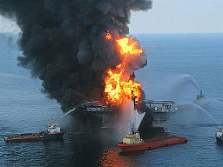 The Deepwater Horizon clean up drew extensively from the fund. Source: Wikimedia Commons.