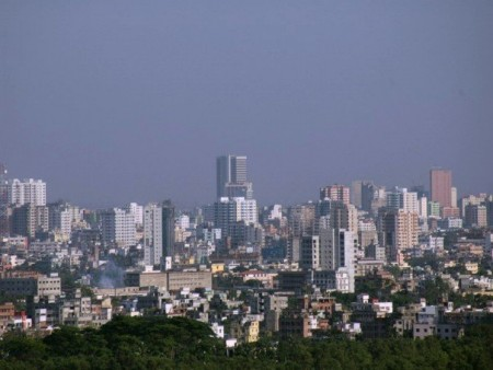 Dhaka, the capital city of Bangladesh (Wikimedia Commons, by Hafrul).