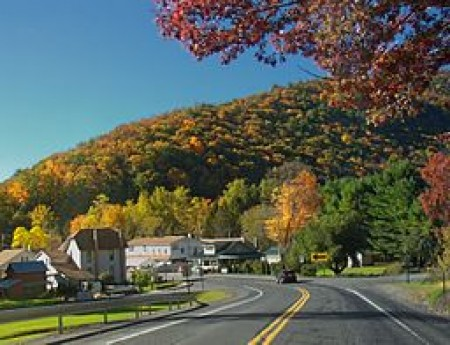 Rural town in Pennsylvania. Source: Wikimedia Commons, by Nicholas A. Tonelli.