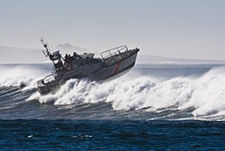 The Coast Guard administers the Oil Spill Liability Trust Fund (via Wikimedia Commons, by Mike Baird).