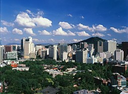 Seoul, South Korea (via Wikimedia Commons, by Seoul Fire and Disaster Management Headquarters).