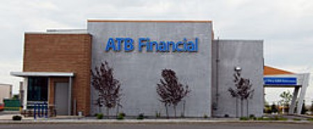 ATB Financial Bank. Alberta Treasury Branches, Image courtesy of Mike Waddy via Wikimedia Commons