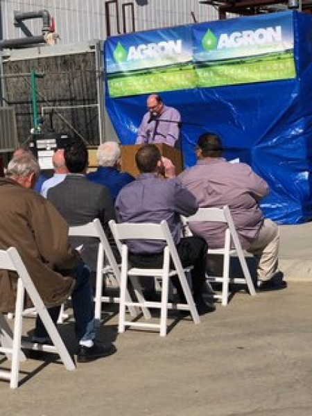 The re-opening of Agron Bioenergy