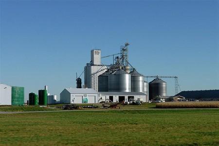 An ethanol plant in Iowa, US (Flickr/Fredd Thompson)