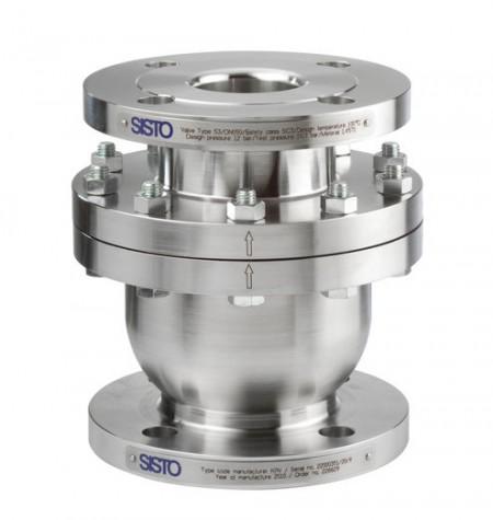 Fluid-controlled SISTO-KRVNA valve (via KSB)