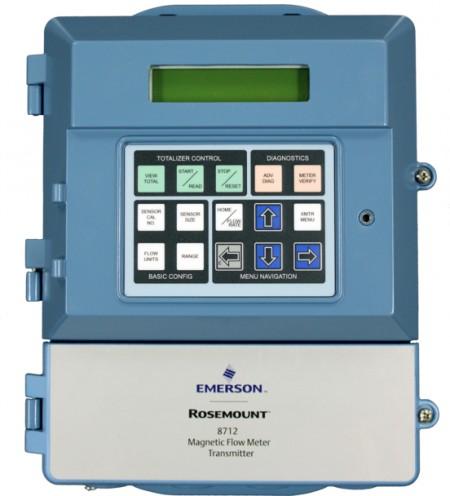 Rosemount 8712EM Magnetic Flow Meter Transmitter (via Emerson)