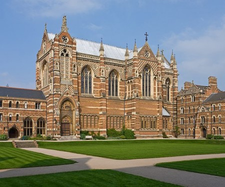 Keble College Chapel, Oxford (Wikimedia Commons/Diliff)