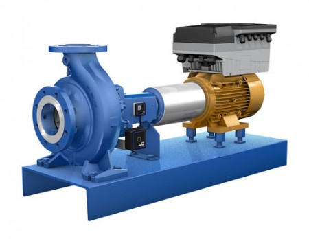 The KSB Guard pump monitoring system applied to a centrifugal pump (via KSB)