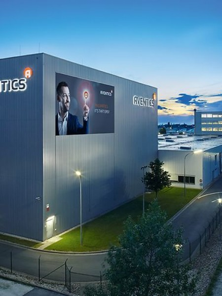 Aventics offices in Laatzen, Germany (via Emerson)