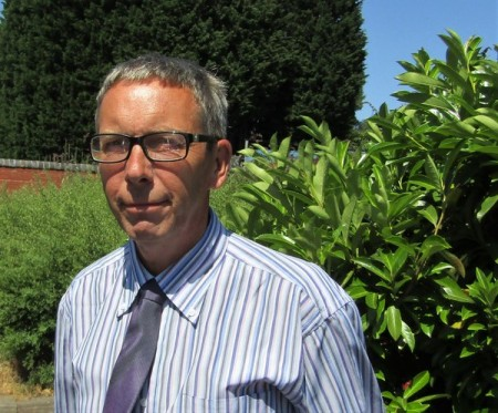 Gary Wilde, the BPMA's new technical services officer